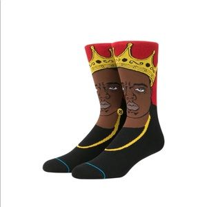 The Notorious B. I. G. Over the calf height socks